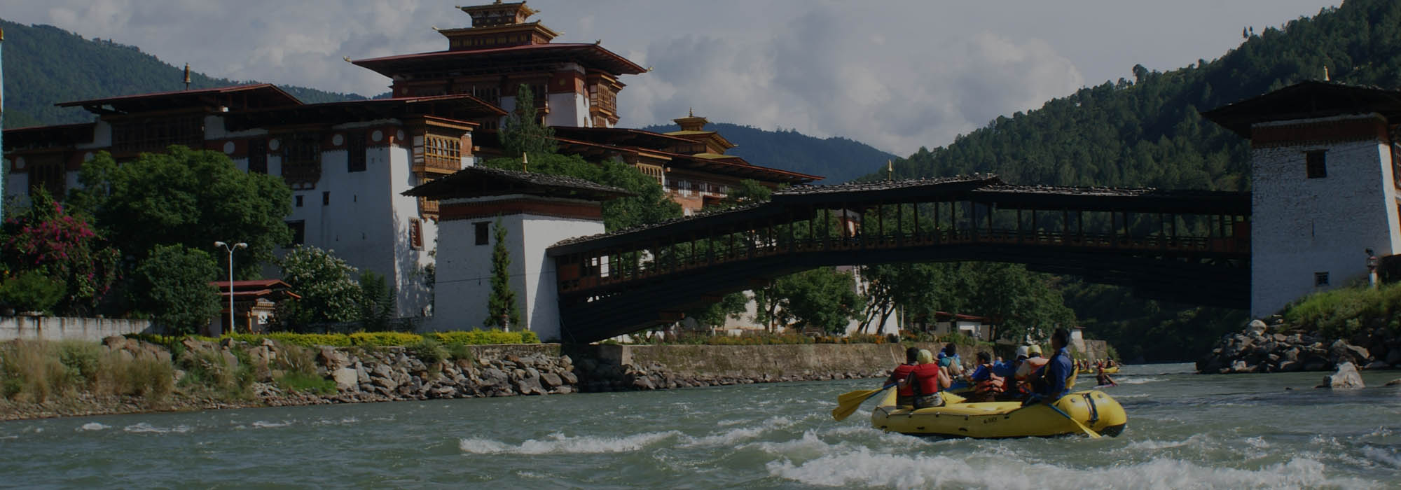 Bhutan White Water River Rafting