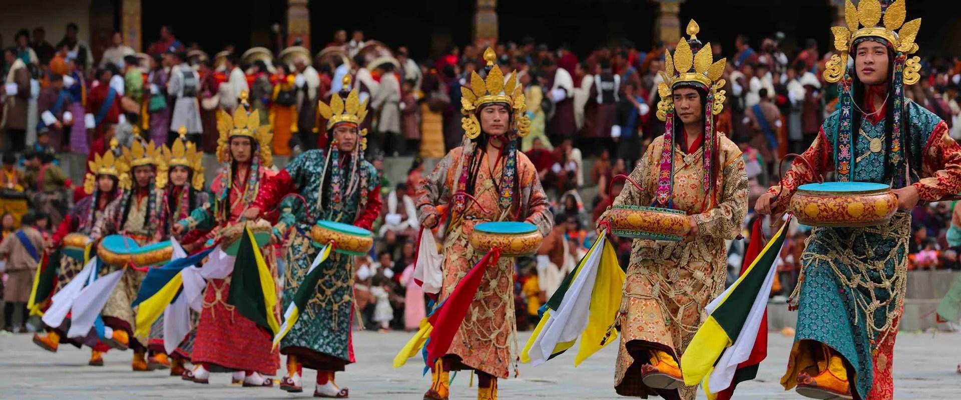 Chorten Kora Tshechu Bhutan festival tour