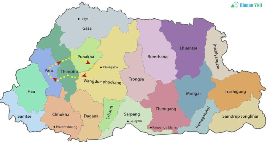 One Week cultural Tour in Bhutan