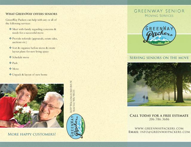 GreenWay Packers brochure (exterior)