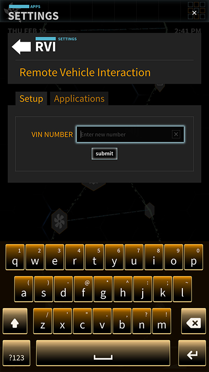 Proof of Concept (POC) Platform - RVI Setup
