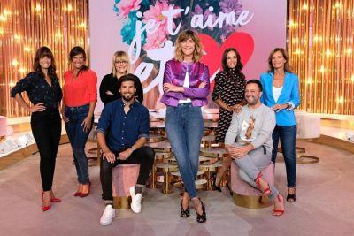 Equipe de l'émission « Je t'aime, etc. », diffusée sur France 2