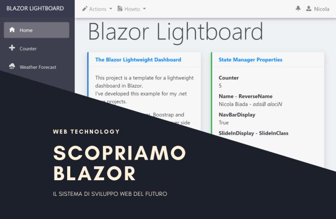 Blazor Lightboard