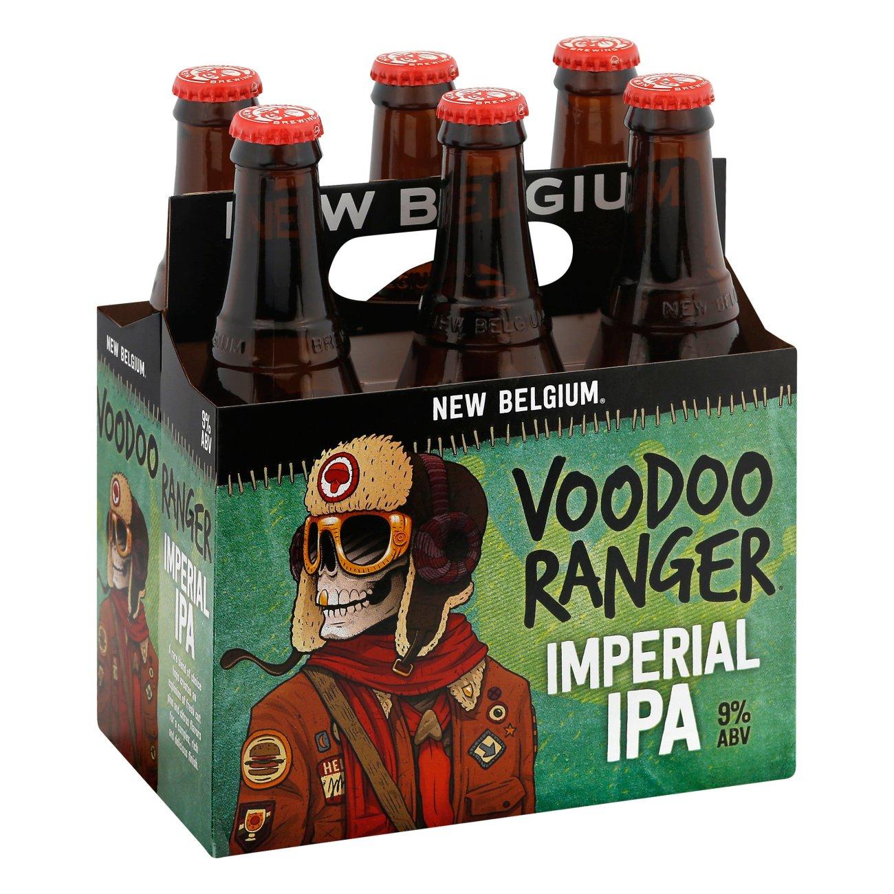 New Belgium Voodoo Ranger Imperial Ipa 12oz 6pk Bottles Biagio Wine Spirits