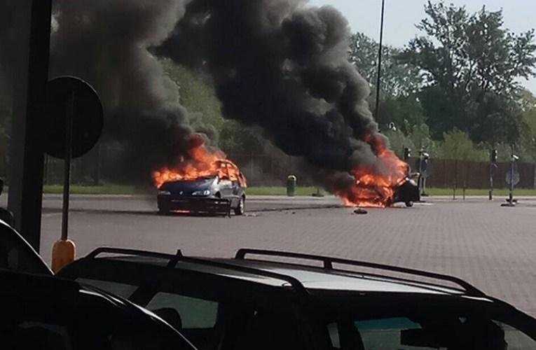 Pożar na przejściu granicznym w Terespolu