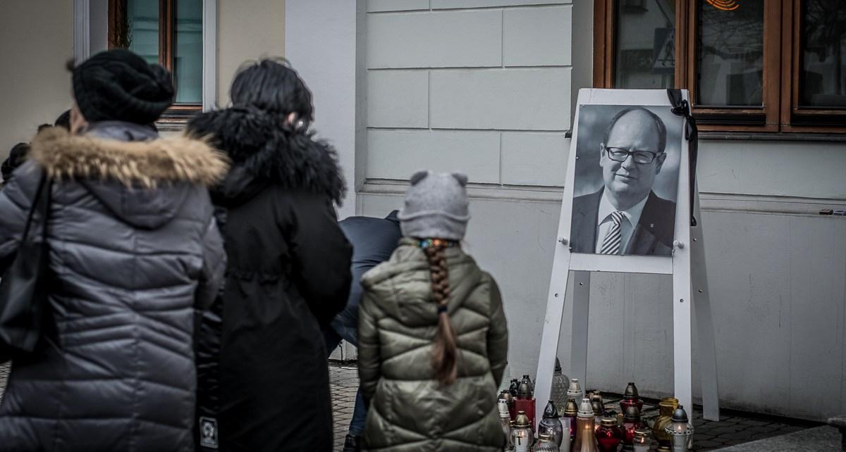Bialczanie uczcili pamięć zmarłego prezydenta Pawła Adamowicza