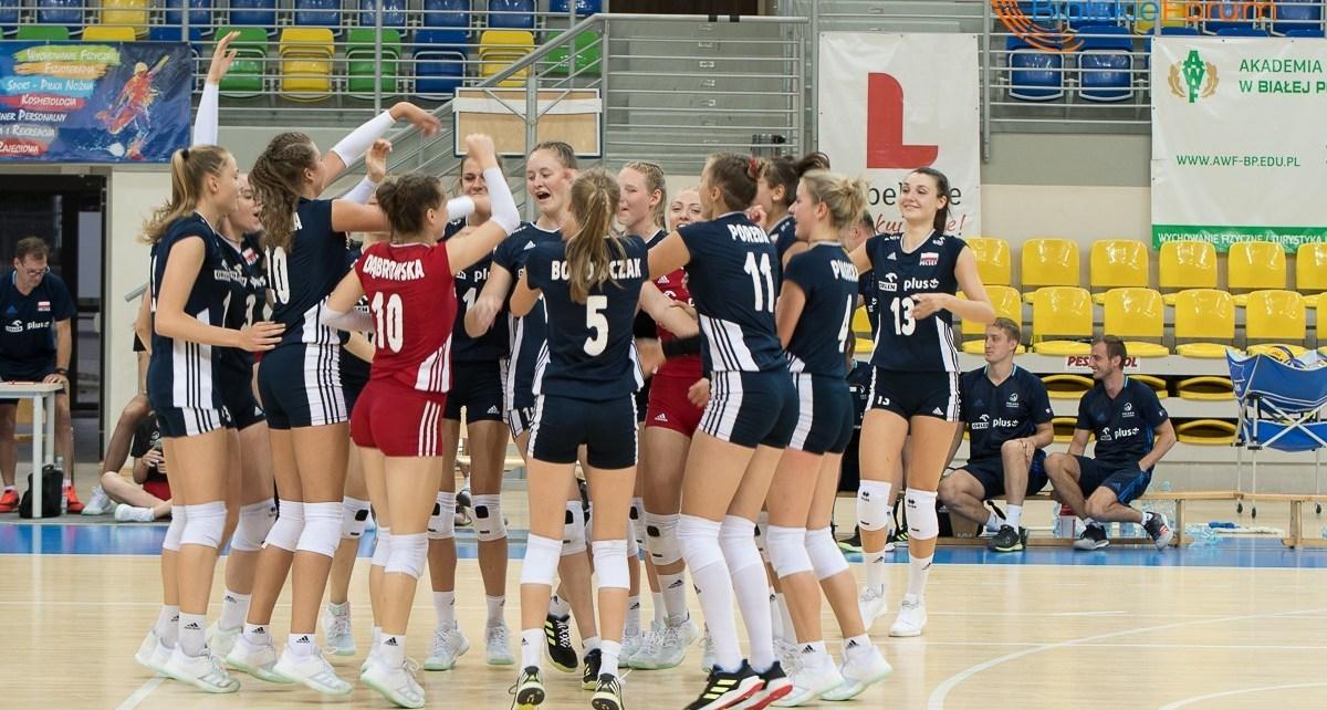 Kadra Polski U-18 w siatkówce kobiet w Białej Podlaskiej
