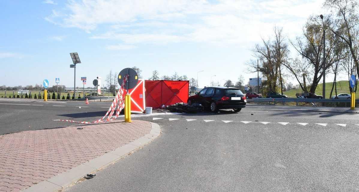 Tragiczny wypadek na DK-2 w Kobylanach