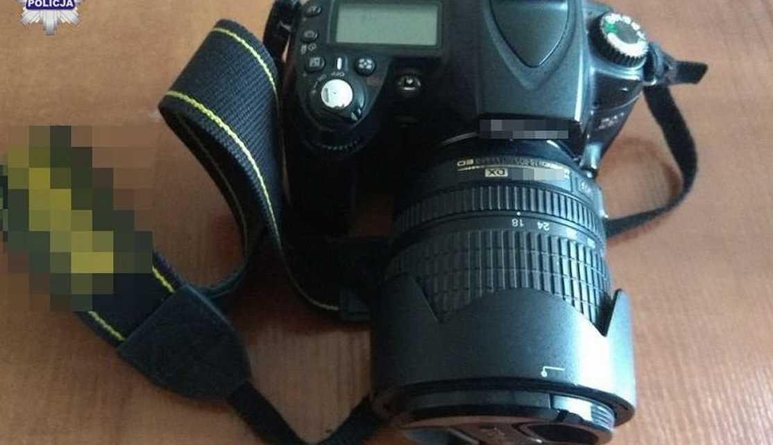 Ustalony sprawca kradzieży mundurów i aparatu fotograficznego
