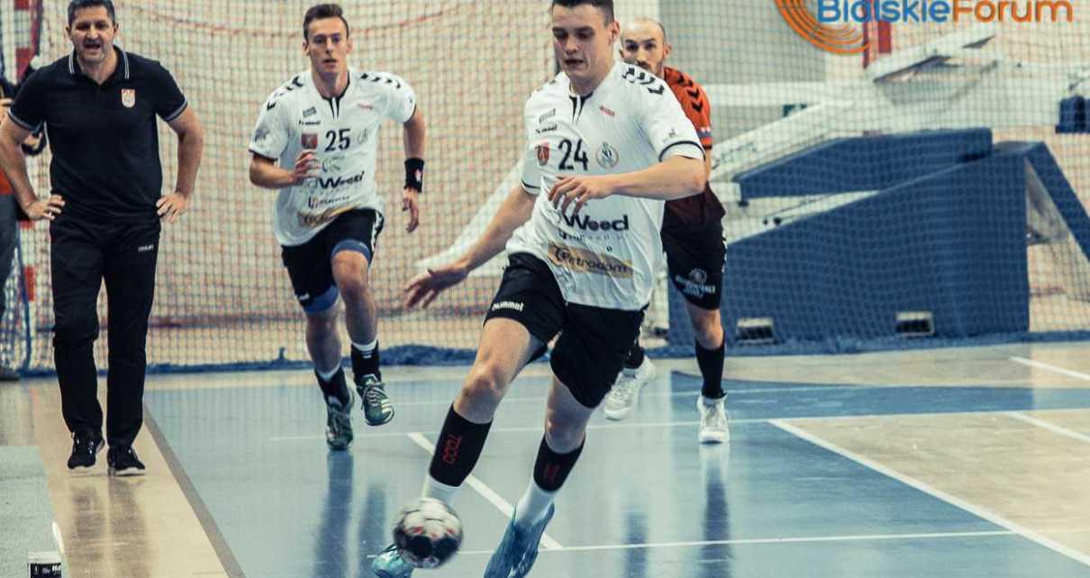 Piłka ręczna I liga: AZS AWF Biała Podlaska - AZS UJK Kielce
