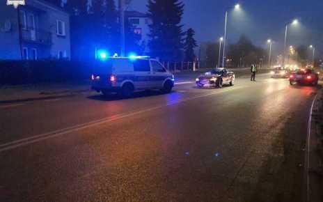 Pijany Białorusin spowodował kolizję, po czym chciał wręczyć łapówkę policjantom