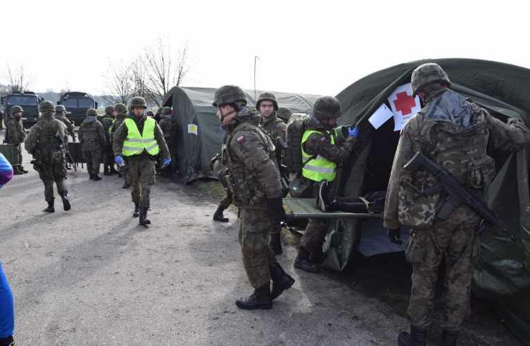 Szkolenie kryzysowe Terytorialsów w Leśnej Podlaskiej