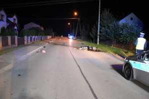 Śmierć motocyklisty w Piszczacu
