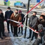 Oficjalnie otwarcie rond na Terebelskiej i Solidarności