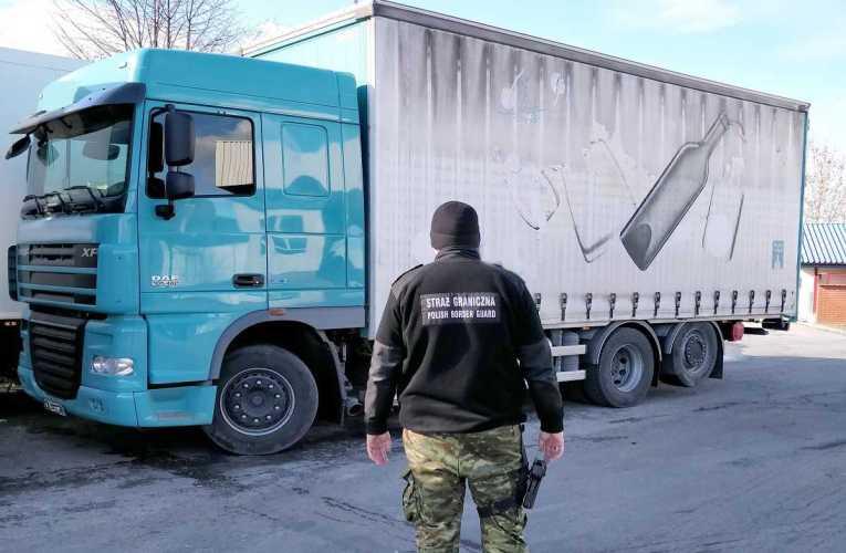 Odzyskali pojazd marki DAF pochodzący z przestępstwa