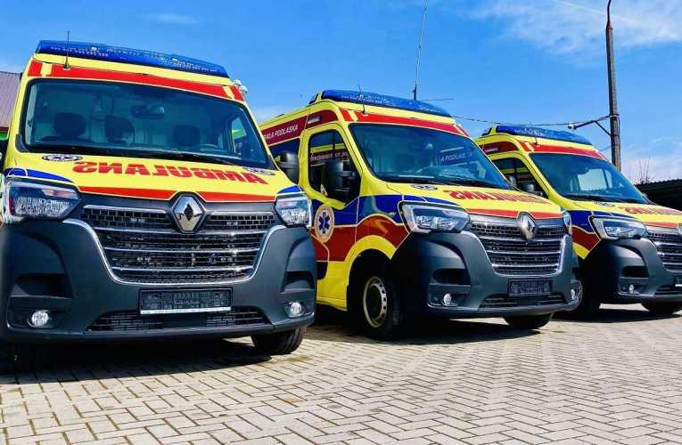 Nowe ambulanse w Stacji Pogotowia Ratunkowego w Białej Podlaskiej