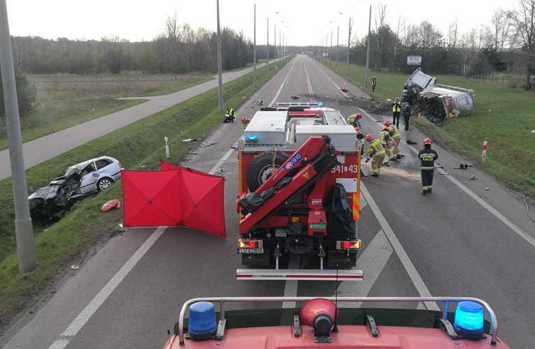 Tragiczny wypadek na obwodnicy Białej Podlaskiej