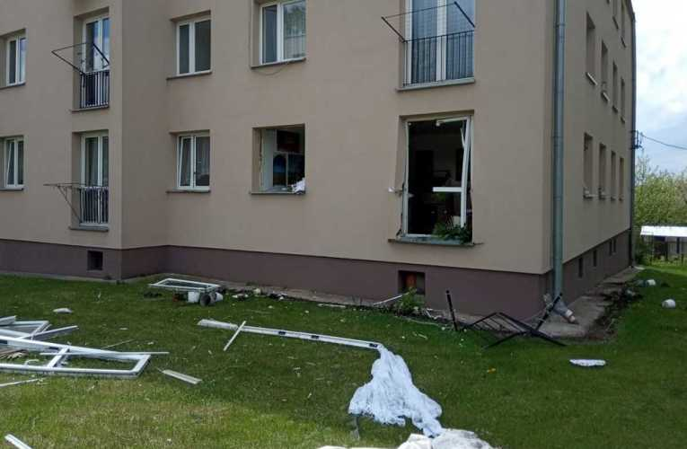Wybuch gazu w Janowie Podlaskim