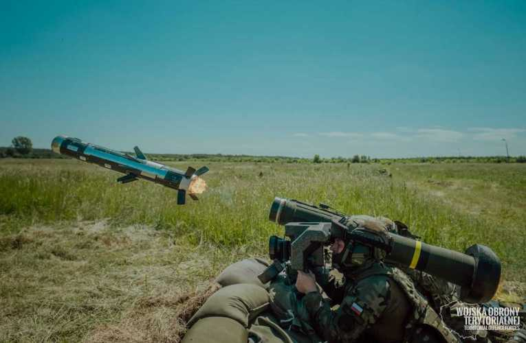 Pierwsze strzelanie z systemu Javelin