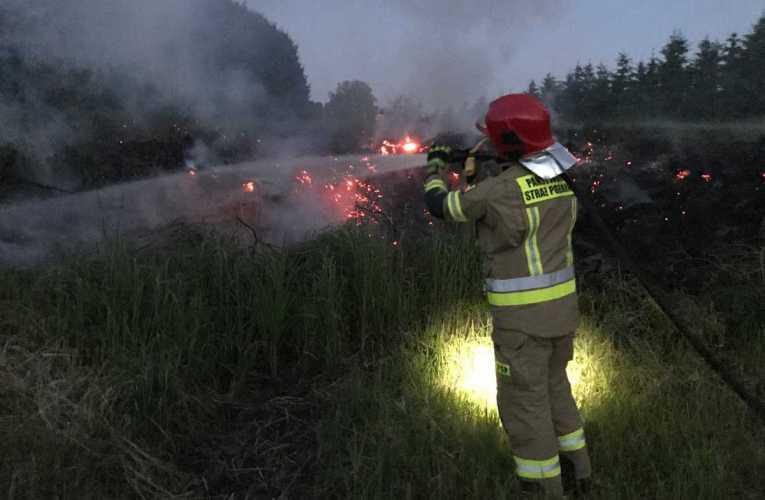 Zaprószenie przyczyną pożaru