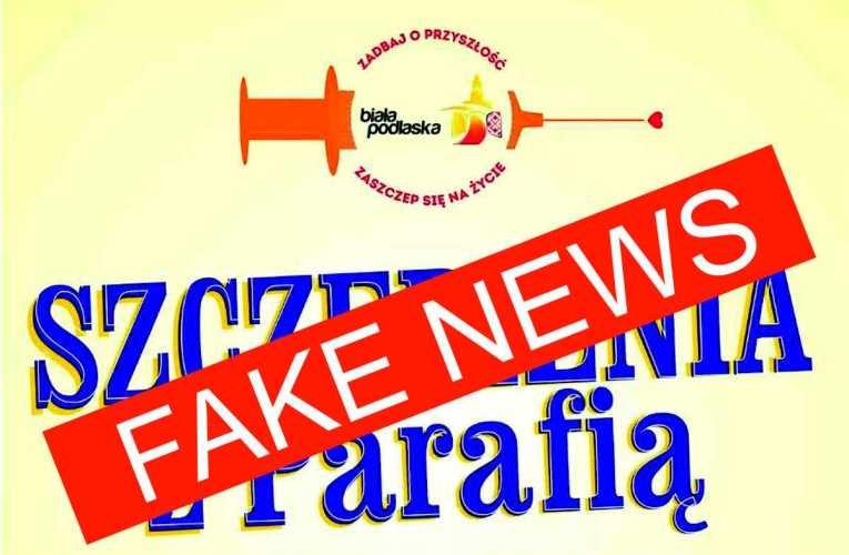 Ks. Marian Daniluk dementuje informacje rozpowszechniane przez bialski ratusz