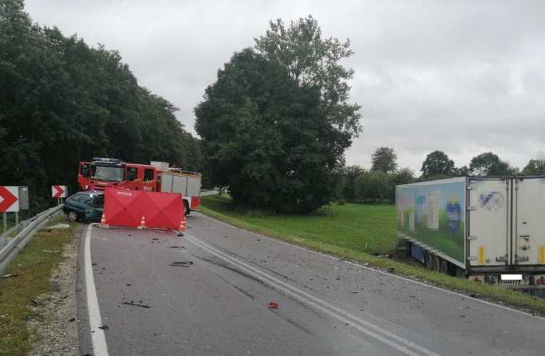 Tragiczny wypadek w miejscowości Łukowisko