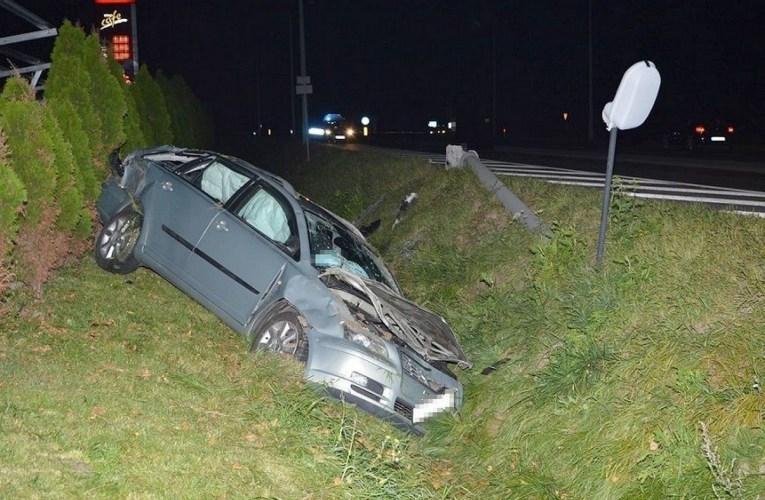 Prawdopodobną przyczyną wypadku było zaśniecie kierującego