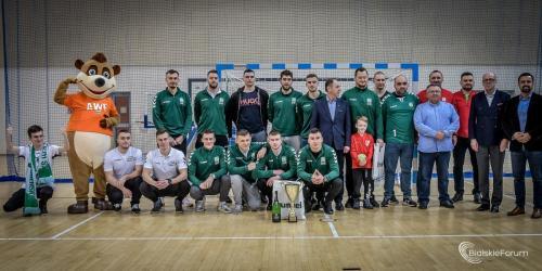 2020.01.18 Dekoracja Turniej 50-lecia AZS AWF Biała Podlaska