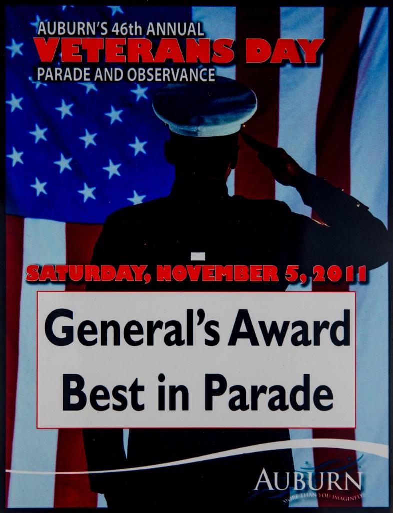 2011 General's Award