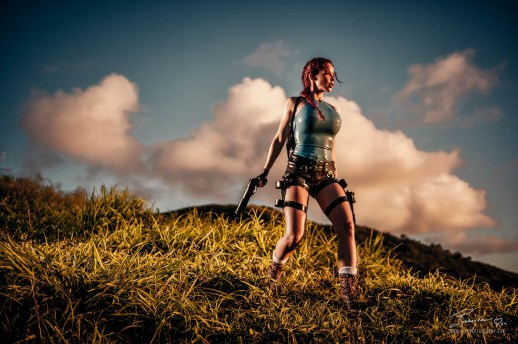 Exploring Fiji Islands as Lara Croft