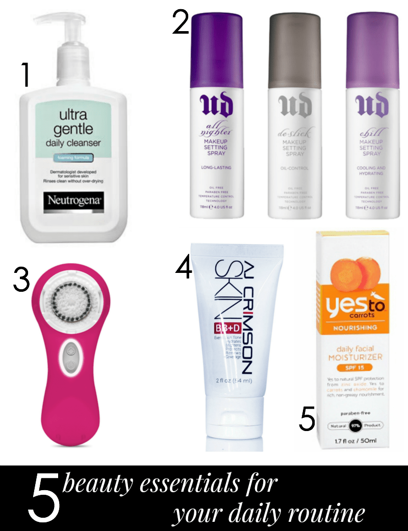 5 Beauty Essentials For Your Daily Routine
