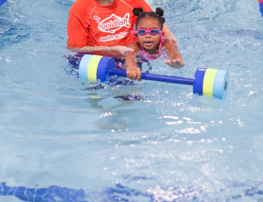 6 Swimming Skills Your Kid Will Learn at Goldfish Swim School | Bianca Dottin