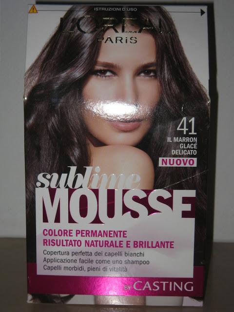 Sublime mousse: facile da mettere, anche per le imbranate!