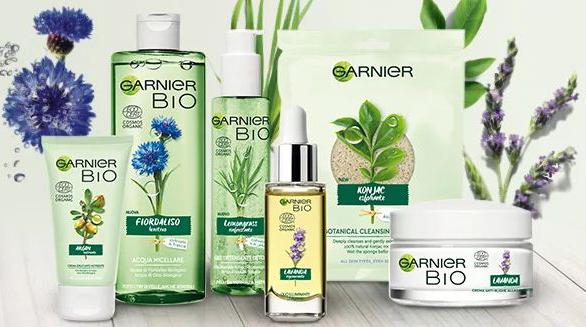 I prodotti della linea Garnier Bio