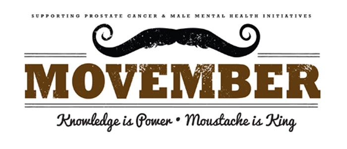 movember, knowledge is power.