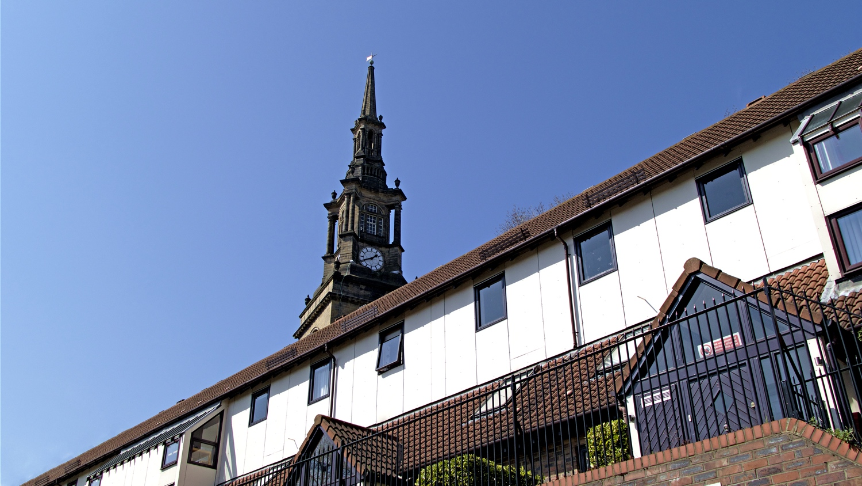 Kerk woonwijk newcastle