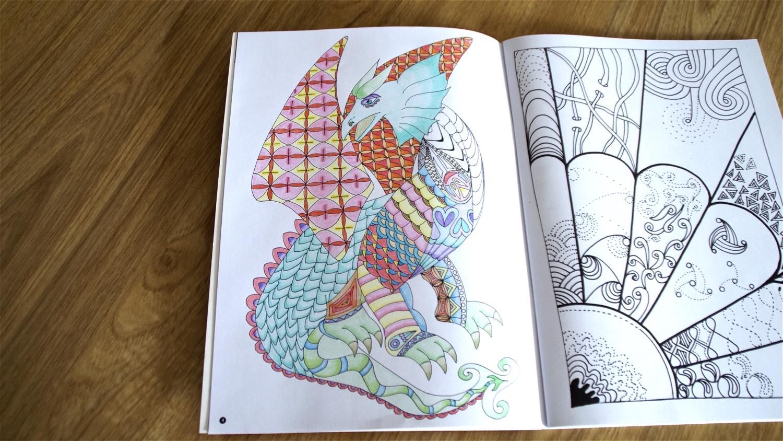 zen kleurboek action