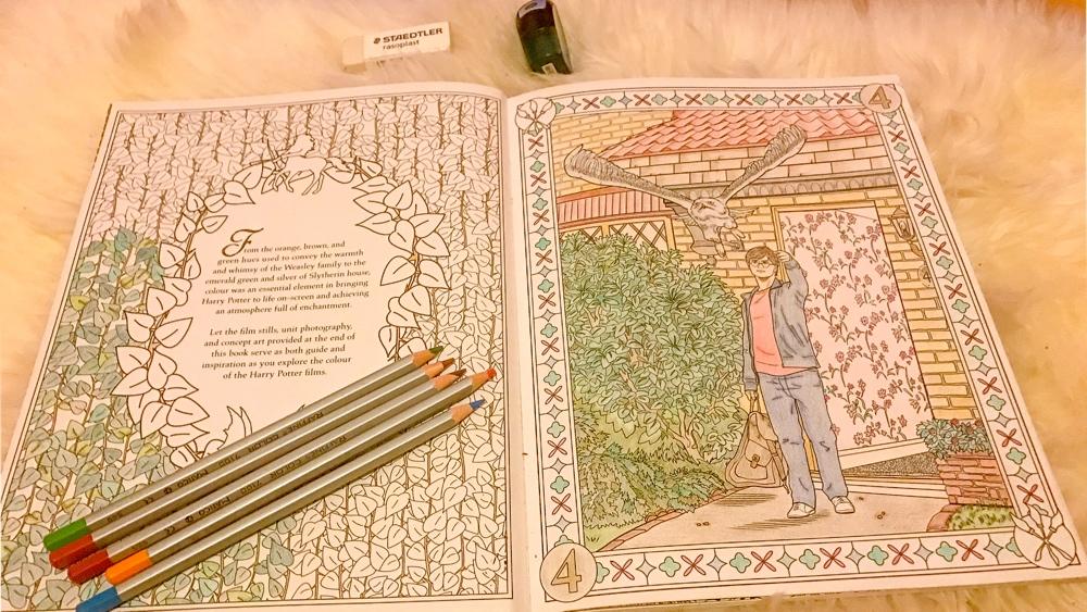 harry potter kleurboek 1
