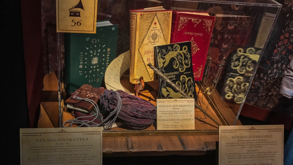 Boeken Hermelien Harry Potter Expo