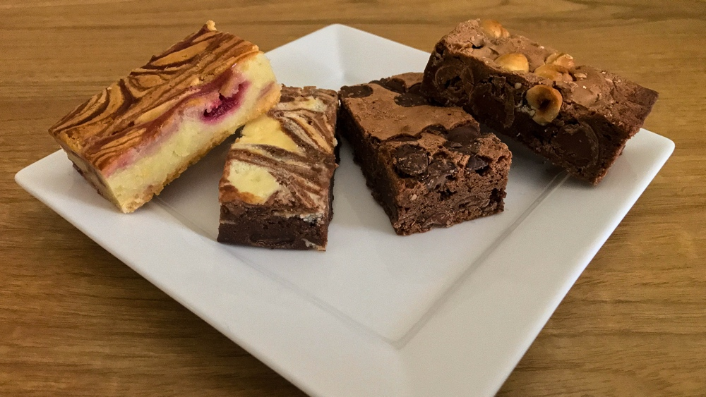 Onze brownies per post