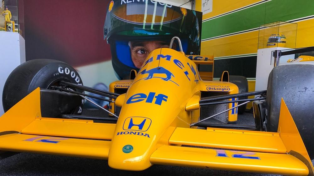 Spa Arton Senna stand 2