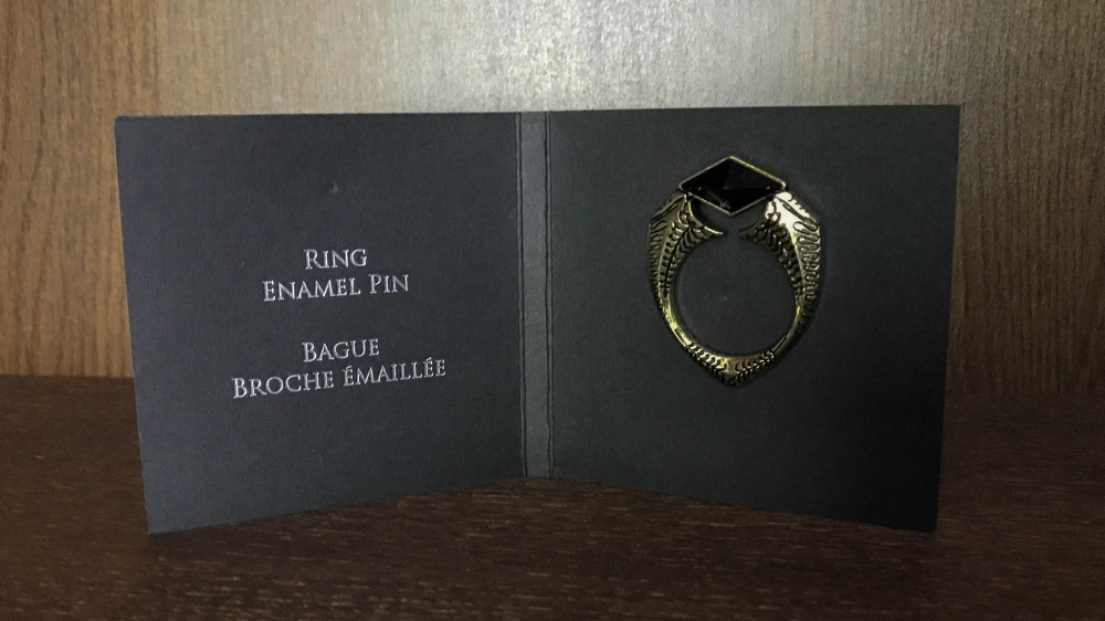 Loot crate Tom Riddle Horcrux Marvolo Gaunt's signet ring