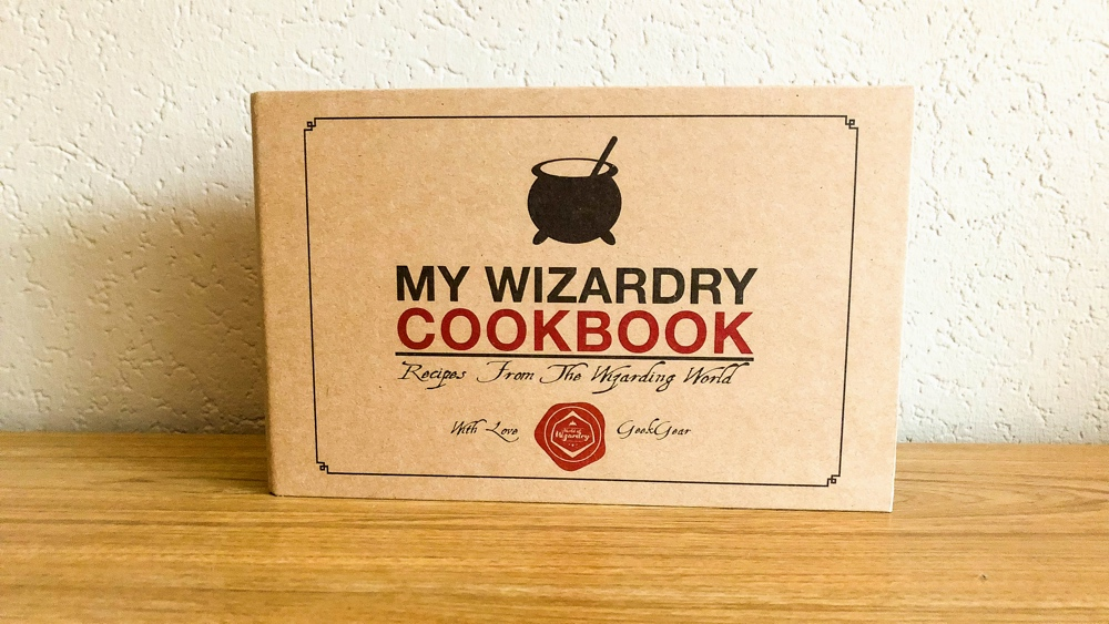 Geek gear World of wizardry box december cookbook