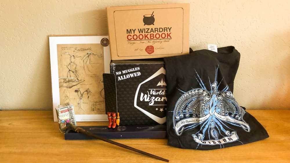 Geek gear World of wizardry box december inhoud