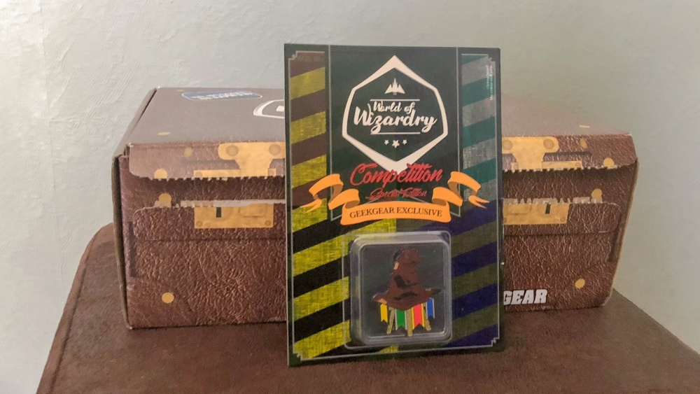 geek gear World of Wizardry januari sortinghead pin