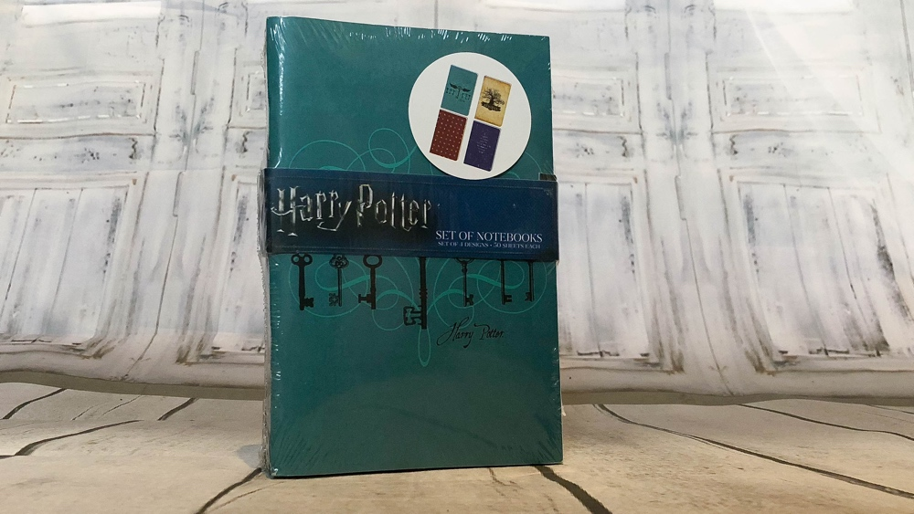 loot crate wizarding world box notebooks