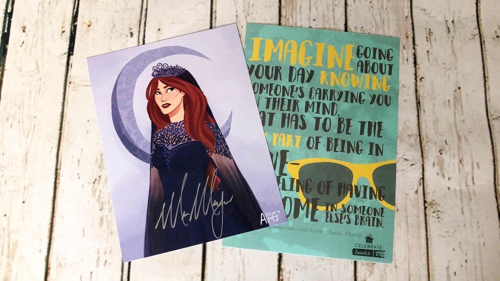 unboxing Celebrate books box pride & prom art plate