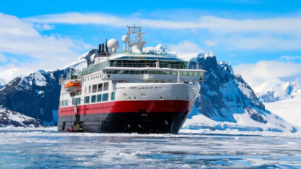 cruiseschip antartica