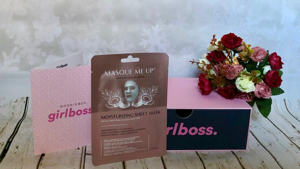 Goodiebox oktober 2018 masque me up