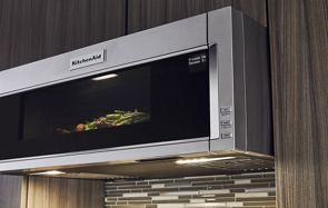 1000 watt low profile microwave hood